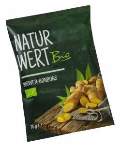 NaturWert Bio Ingwer-Bonbons