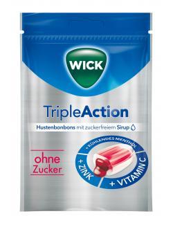 Wick Triple Action Hustenbonbons ohne Zucker
