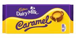 Cadbury Caramel Schokolade