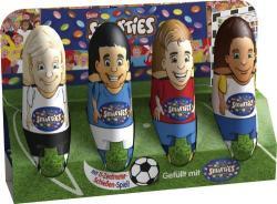 Nestlé SMARTIES Hohlfiguren, WM Edition, aus Milchschokolade mit Smarties Schokolinsen