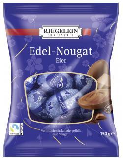 Riegelein Edel-Nougat Eier