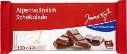 Jeden Tag Schokolade Alpenvollmilch