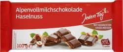 Jeden Tag Schokolade Alpenvollmilch-Nuss