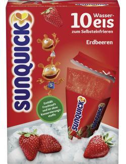 Sunquick Wassereis Erdbeeren