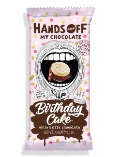 Hands Off Birthday Cake Chocolate
