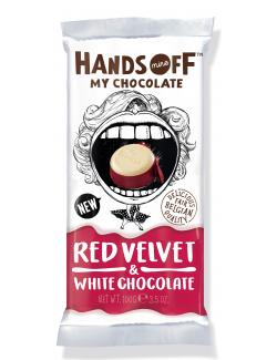Hands Off My Chocolate Red Velvet & White Chocolate