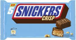 Snickers Crisp Riegel 5er