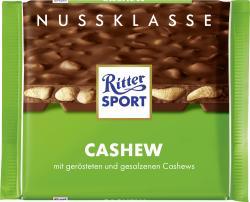 Ritter Sport Nussklasse Cashew