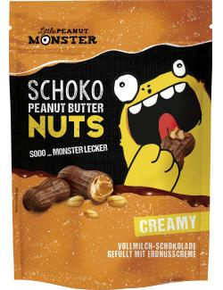 Little Peanut Monster Schoko Peanut Butter Nuts Creamy