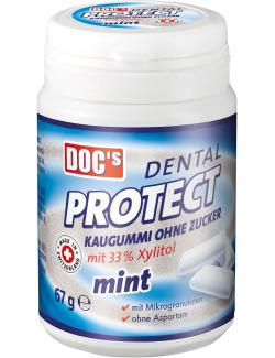 Doc's Dental Protect Kaugummi ohne Zucker mint