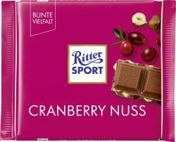Ritter Sport Bunte Vielfalt Cranberry Nuss