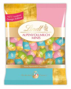 Lindt Limitierte Design-Edition Alpenvollmilch Minis
