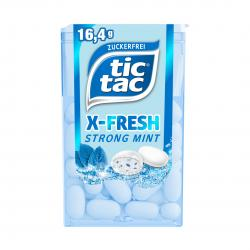 Tic Tac X-Fresh Strong Mint zuckerfrei