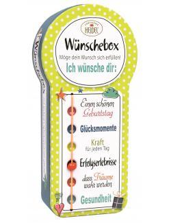 Heidel Wünschebox mit Pralinen
