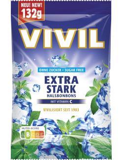 Vivil Halsbonbons extra Stark ohne Zucker