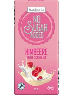 Frankonia No Sugar Added Weisse Schokolade Himbeere