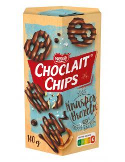 Nestlé Choclait Chips Knusperbrezeln