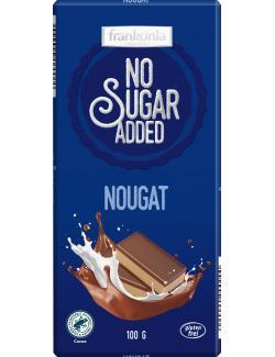 Frankonia No Sugar Added Nougat Schokolade