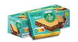 Frankonia No Sugar Added Hazelnut Waffles