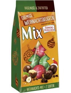 Ferrero Küsschen Cremige Weihnachtskugeln Mixpack Haselnuss & Zartbitter