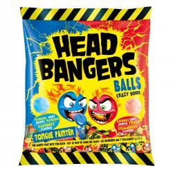 Head Bangers Balls Crazy Sour Himbeere & Erdbeere