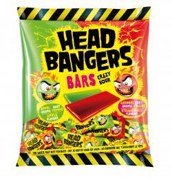 Head Bangers Bars Crazy Sour Apfel & Erdbeere