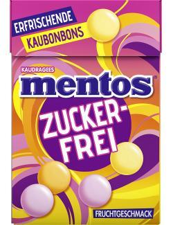 Mentos Fruchtgeschmack zuckerfrei