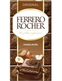 Ferrero Rocher Tafel Original Haselnuss