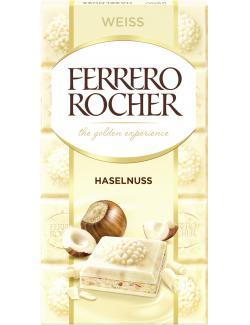 Ferrero Rocher Tafel Weiss Haselnuss