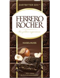 Ferrero Rocher Tafel Zartbitter Haselnuss