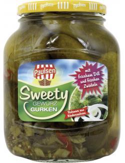 Paulsen Sweety Gewürzgurken