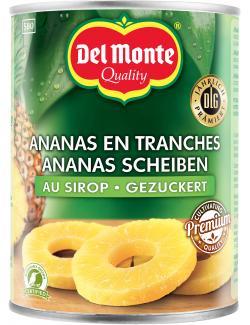 Del Monte Ananas Scheiben gezuckert