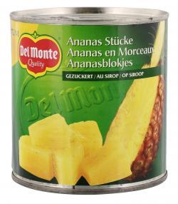 Del Monte Ananas Stücke gezuckert (260 g) - 24000015970