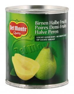 Del Monte Birnen halbe Frucht leicht gezuckert (236 ml) - 24000100027