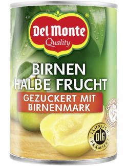 Del Monte Birnen halbe Frucht gezuckert mit Birnenmark
