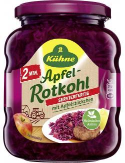 Kühne Rotkohl Servierfertig mit Apfelstückchen