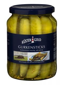 Küstengold Gurkensticks (360 g) - 4003691005145