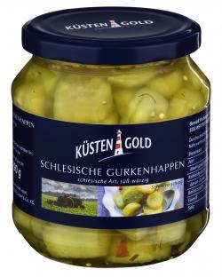 Küstengold Schlesische Gurkenhappen (290 g) - 4003691005176