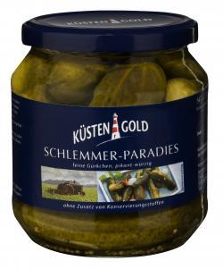 Küstengold Schlemmer-Paradies Feine Gürkchen (300 g) - 4003691005169