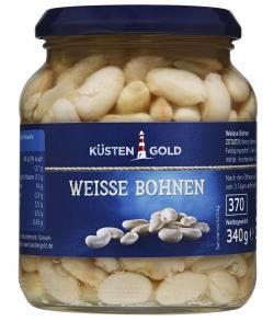 Küstengold Weisse Bohnen