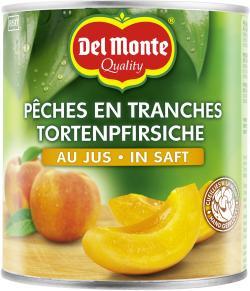 Del Monte Tortenpfirsiche-Schnitten in Saft
