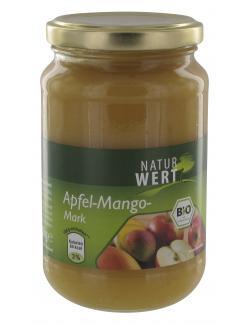 NaturWert Bio Apfel-Mango-Mark (370 ml) - 4250780308438