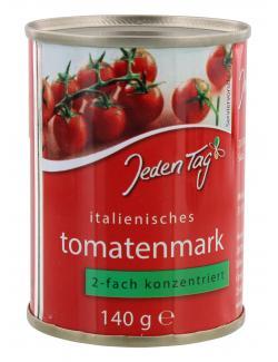 Jeden Tag Italienisches Tomatenmark 2-fach konzentriert (140 g) - 4000493900036