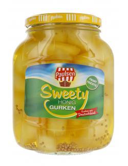 Paulsen Sweety Honig Gurken (720 ml) - 4009309402412
