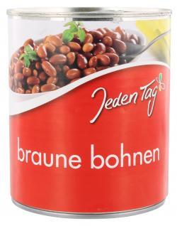 Jeden Tag Braune Bohnen