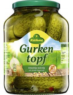 Kühne Gurkentopf (850 g) - 4012200040263