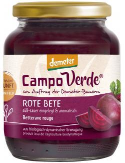 Demeter Campo Verde Bio Rote Bete (430 g) - 4045178002506