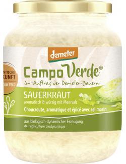 Demeter Campo Verde Bio Sauerkraut (460 g) - 4045178002568