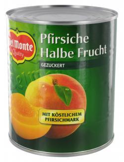 Del Monte Pfirsiche halbe Frucht gezuckert (470 g) - 24000148098