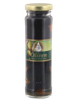 Royal del Sol geschwärzte Oliven ohne Stein (60 g) - 4006648228291